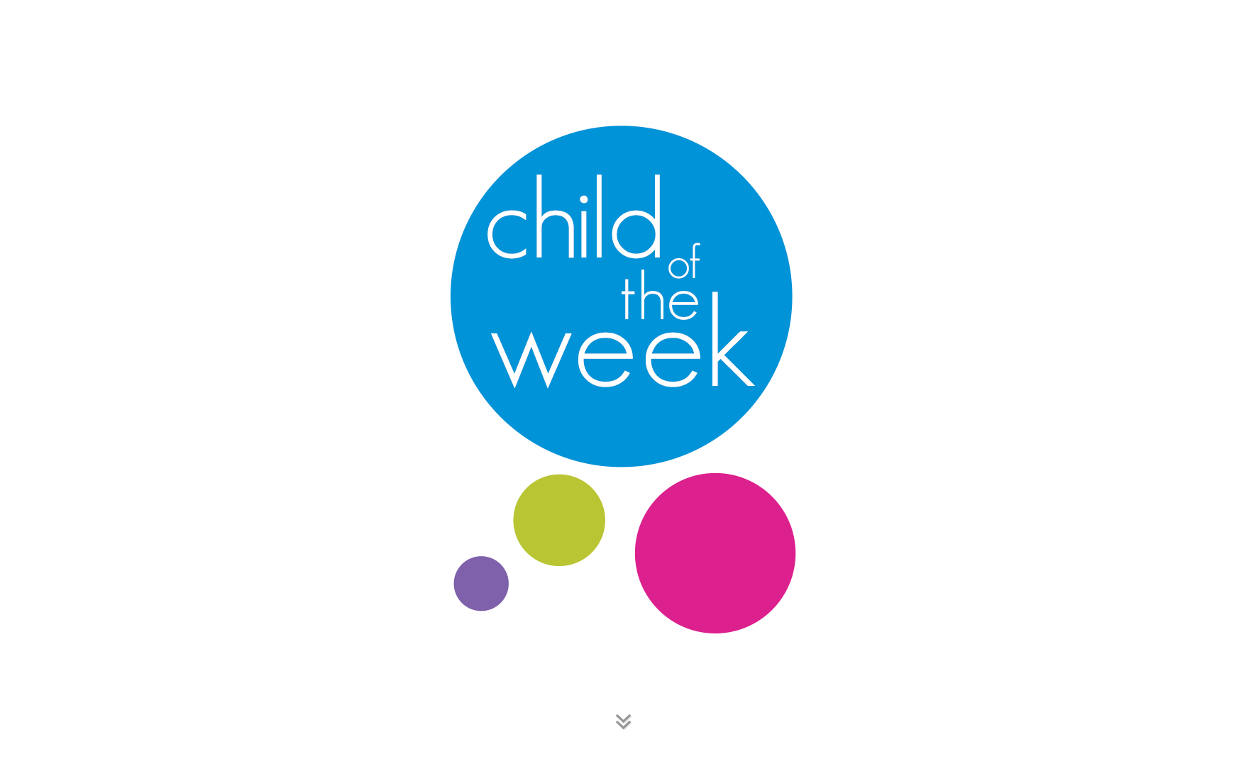 Child of the Week title image